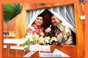 Bupati Bersama Wakil Bupati Bengkulu Utara Mengunjungi Stand Pameran HUT Kota Arga Makmur Ke 43