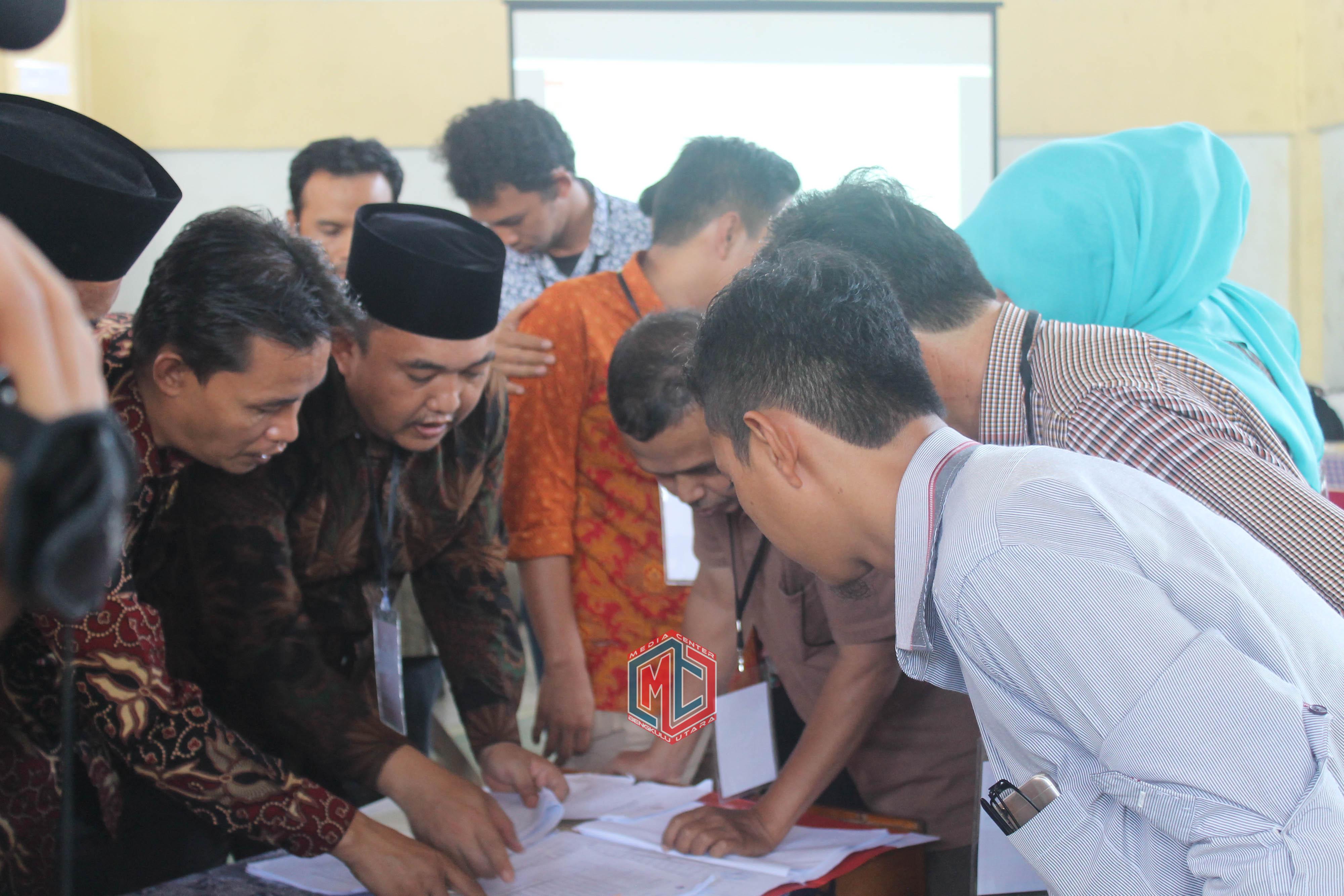 KPU Bengkulu Utara Gelar Pleno Tingkat Kabupaten