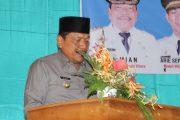 Bupati Bengkulu Utara Membuka Acara Bulan Bahasa di SMAN 2 Arga Makmur