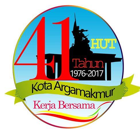 Logo HUT Ke-41 Kota Arga Makmur