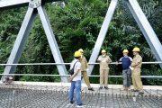 Bupati Bengkulu Utara Pantau Progres Penyelesaian Pembangunan Jembatan Kota Lekat