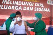 Bupati Jadi Penerima Vaksin Pertama di Bengkulu Utara
