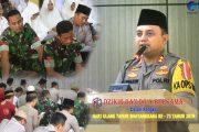 Sambut HUT ke-73 Bhayangkara, Polres BU Gelar Dzikir dan Doa Bersama