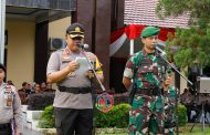 Kapolres Bengkulu Utara Pimpin Apel Gelar Pasukan Pengamanan Pemilu 2019