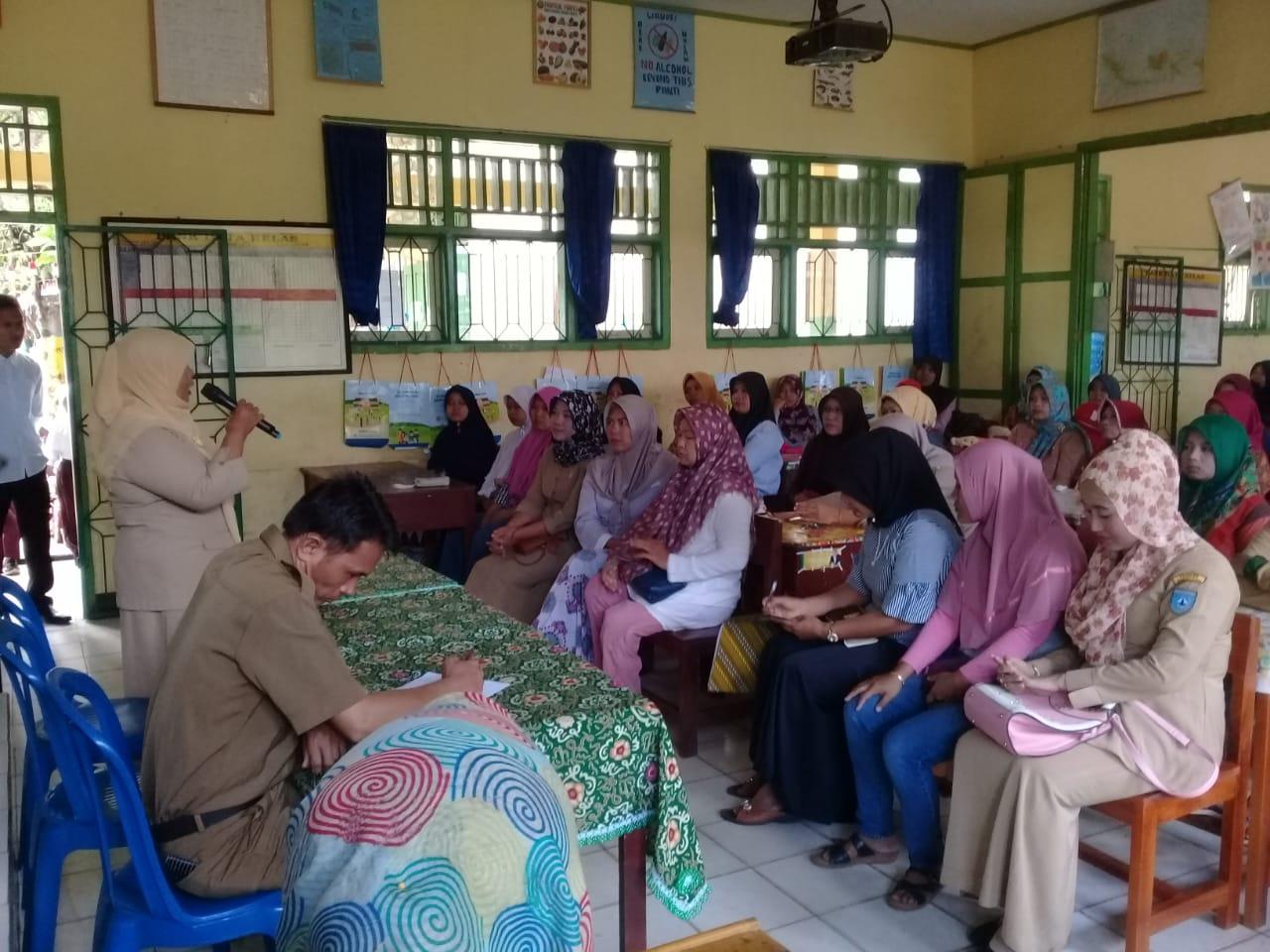 SDN 004 Bengkulu UtaraGelar Sosialisasi Imunisasi Campak dan Rubella