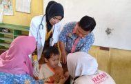Antusias Siswa-Siswi SD Ikuti Imunisasi Campak dan Rubella