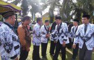 Bupati Bengkulu Utara, Pimpin Upacara Peringatan Hari Guru Nasional