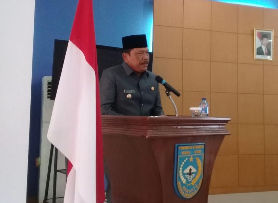 Sampaikan Rancangan APBD 2019, Pemkab Bengkulu Utara fokus Pada Semua Lini Pembangunan