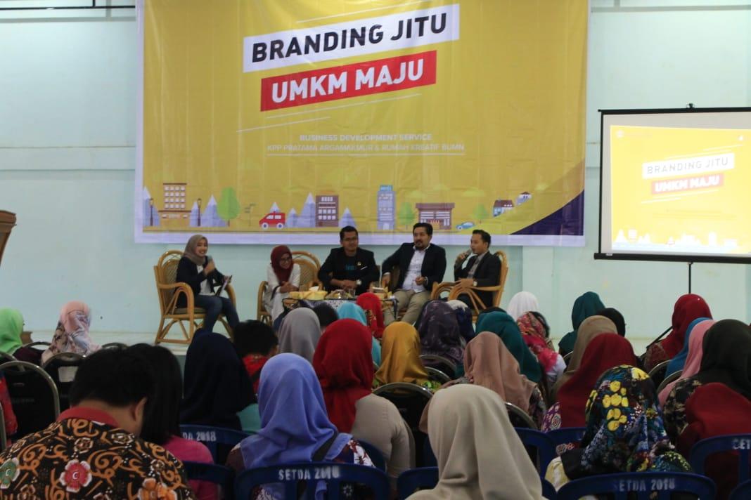 Tingkatkan Kreatifitas dan Produktifitas UMKM Bengkulu Utara Melalui Branding Jitu