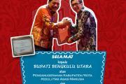 Bengkulu Utara Raih Penghargaan Kabupaten Peduli HAM