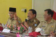 Rakorcam, Bupati Bengkulu Utara : Penyaluran Bantuan dan Program Pemerintah Harus Tepat Sasaran