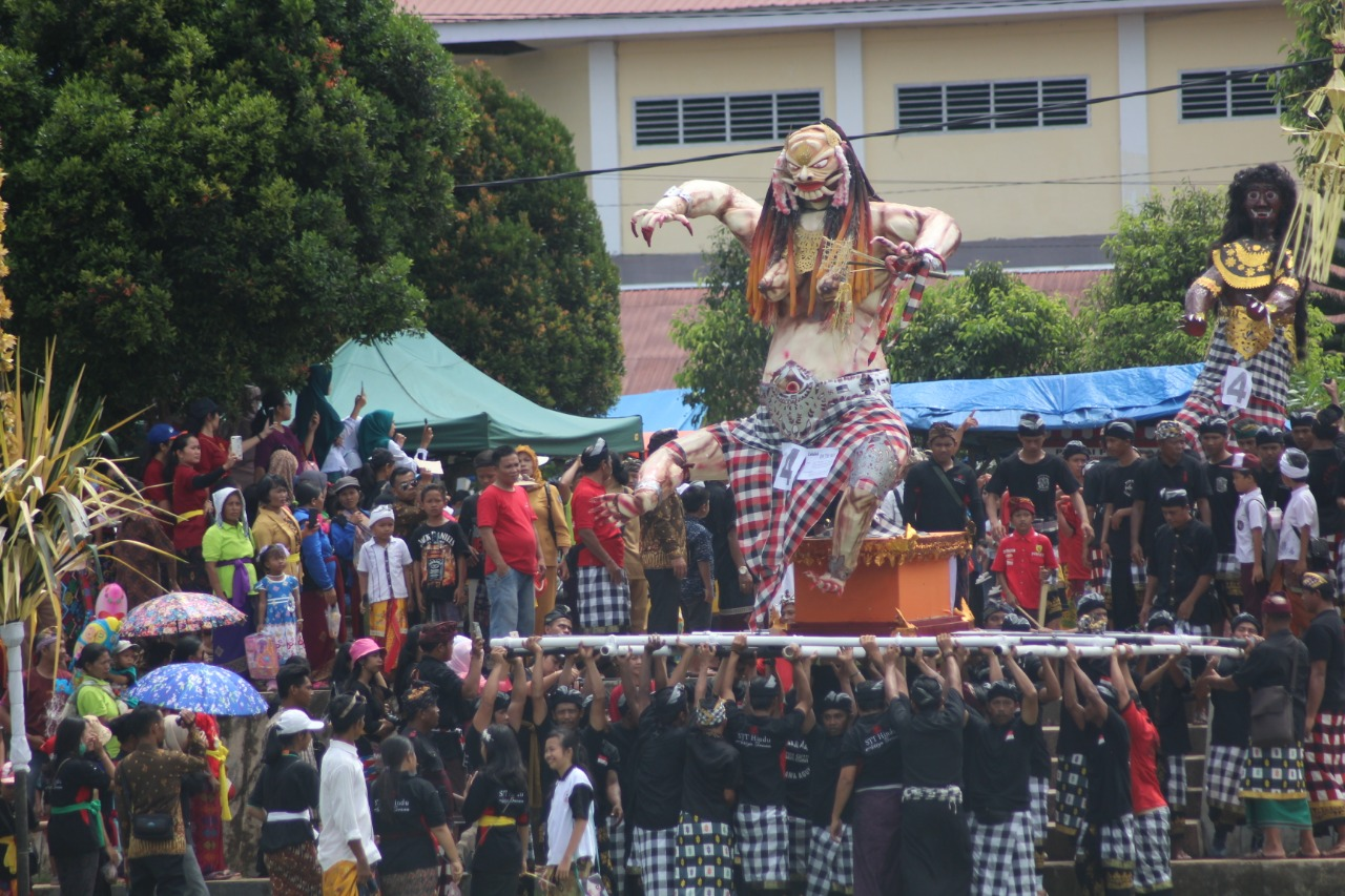Pawai Ogoh-ogoh, Kemeriahan Wisata Budaya Menjelang Nyepi di Bengkulu Utara