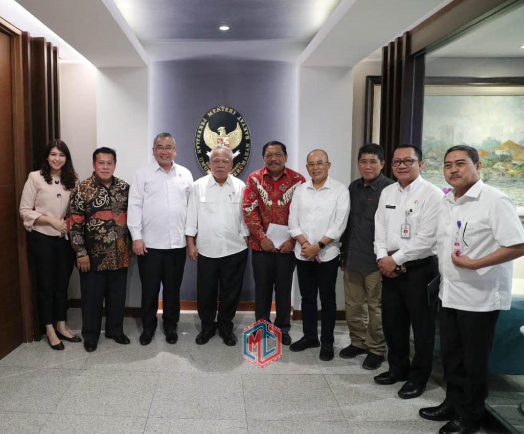 Bupati Bengkulu Utara Audiensi Dengan 4 Menteri
