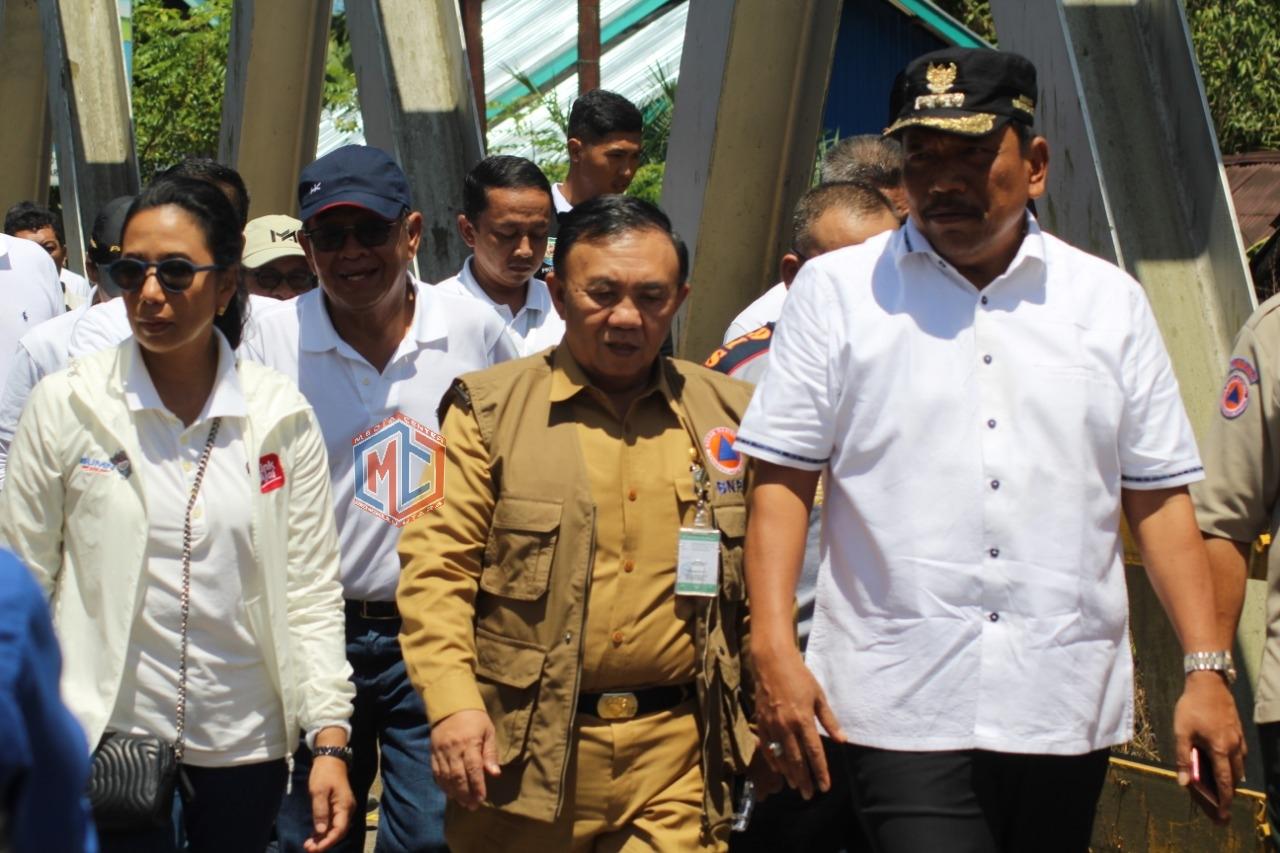 Jembatan Tanjung Agung Palik Jadi Titik Fokus Tinjauan Menteri BUMN