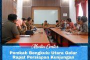 Pemkab Bengkulu Utara Gelar Rapat Perisiapan Kunjungan Kapolda Bengkulu Dalam Rangka Safari Ramadhan