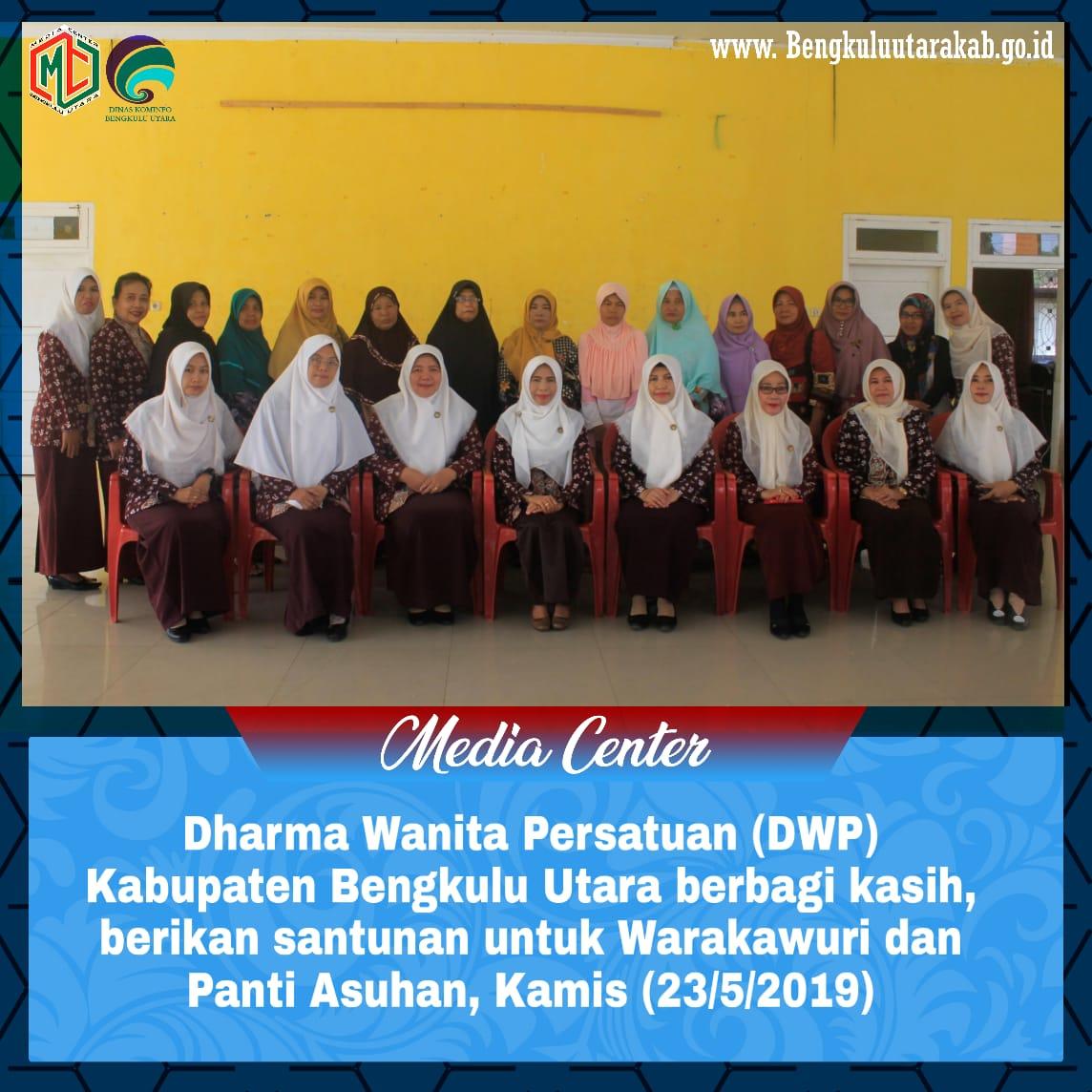 DWP Bengkulu Utara Berbagi Kasih, Beri Santuan untuk Warakawuri dan Panti Asuhan