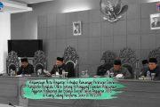 Bupati Bengkulu Utara Sampaikan Nota Pengantar Raperda APBD Tahun 2018
