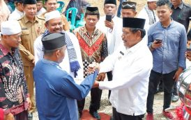Bupati Mian Hadiri Batagak Kudo-Kudo Surau Jamil Syathari