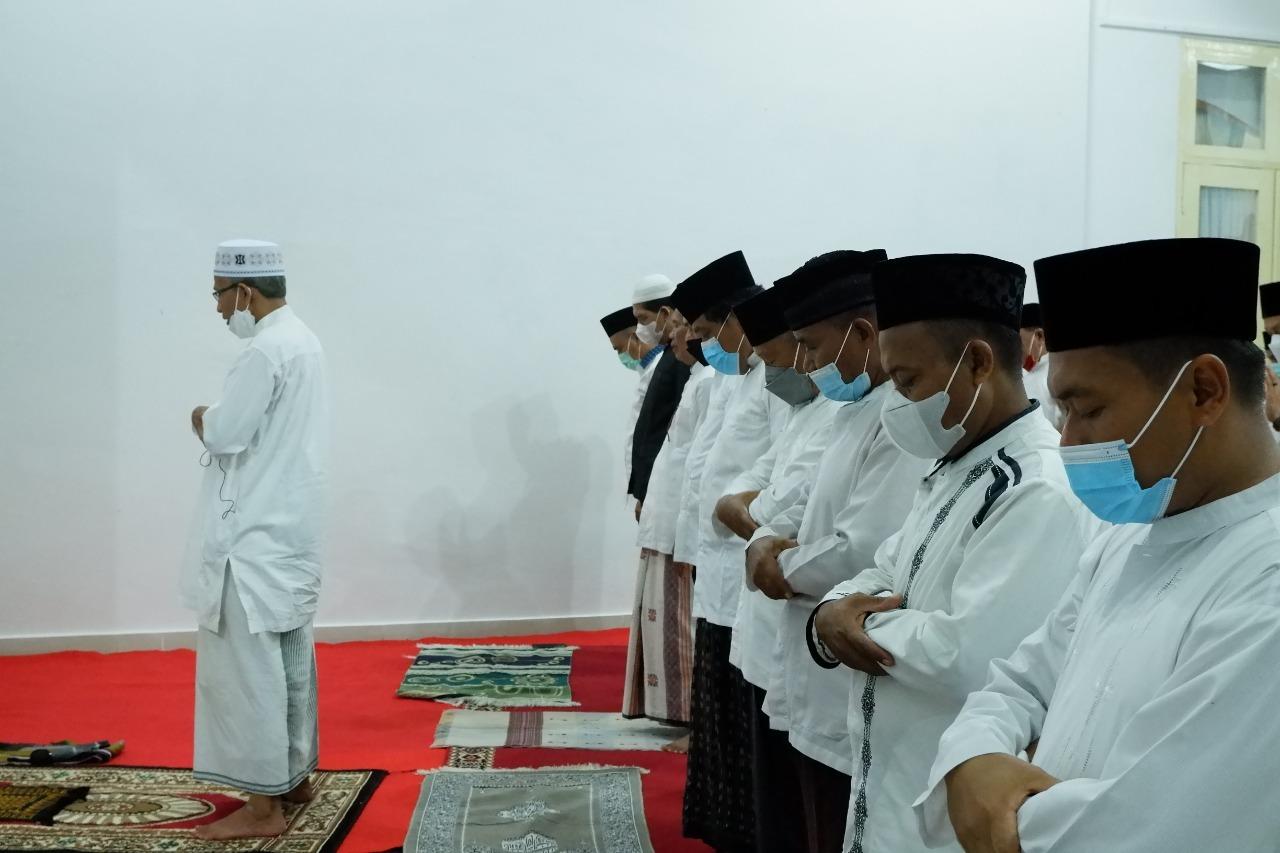 Sambut Bulan Suci Ramadhan, Bupati dan Wabup BU Gelar Doa Bersama