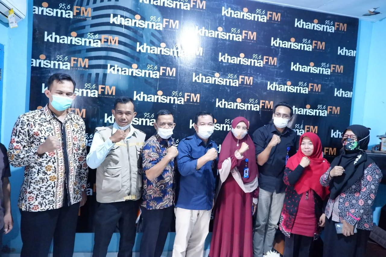 Talkshow Radio Kharisma, Wabup BU Arie Berharap UMKM Terus Berinovasi dan Berkarya