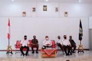 Bupati Wakil Bupati BU Ikuti Arahan Presiden RI Instruksikan Penanganan Covid-19