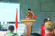 Wabup Arie Pimpin Rakor Pastikan Pemantapan Pencegahan Covid-19 Kec.Kerkap