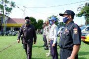 Bupati Mian Pimpin Apel Gelar Pasukan Operasi Ketupat Nala-2021 Polres Bengkulu Utara