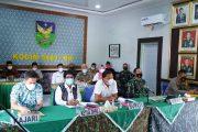 Dengarkan Arahan Wagub dan Danrem 041 Bengkulu, Bupati Bersama Forkopimda Siap Berlakukan Pembatasan Masyarakat