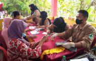 Giliran Gebyar 1000 Vaksin Kecamatan Tanjung Agung Palik