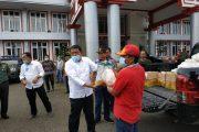Pemkab Bengkulu Utara Beri Bantuan Sembako pada ODP Covid-19