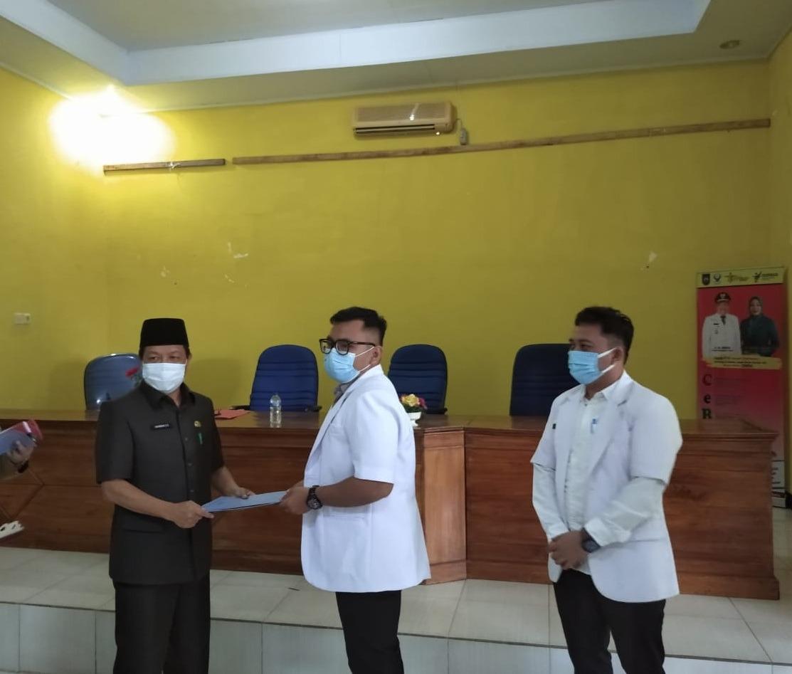 Pjs Bupati BU Apresiasi Pengabdian 14 Dokter Internship dan 2 Perawat Tenaga Kesehatan Nusantara Sehat
