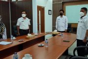 Wakil Bupati BU Ikuti Rakornas Penanggulangan Bencana Tahun 2021 Secara Virtual