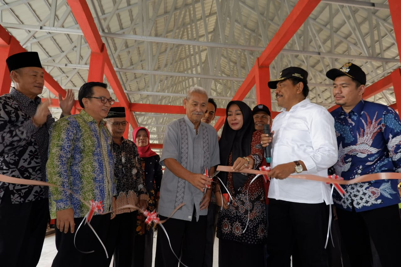 Pasar Rakyat Lubuk Durian Tampil Baru