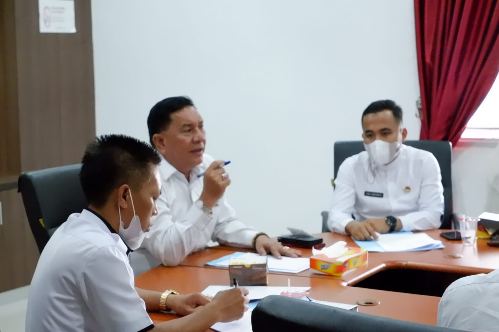 Dongkrak PAD, Pemkab BU Tekankan Para Camat Tanggap Atasi Persoalan PBB di Kecamatan