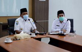 Jajaran Pemkab Bengkulu Utara Ikuti Halal Bihalal Virtual Dengan Gubernur Bengkulu