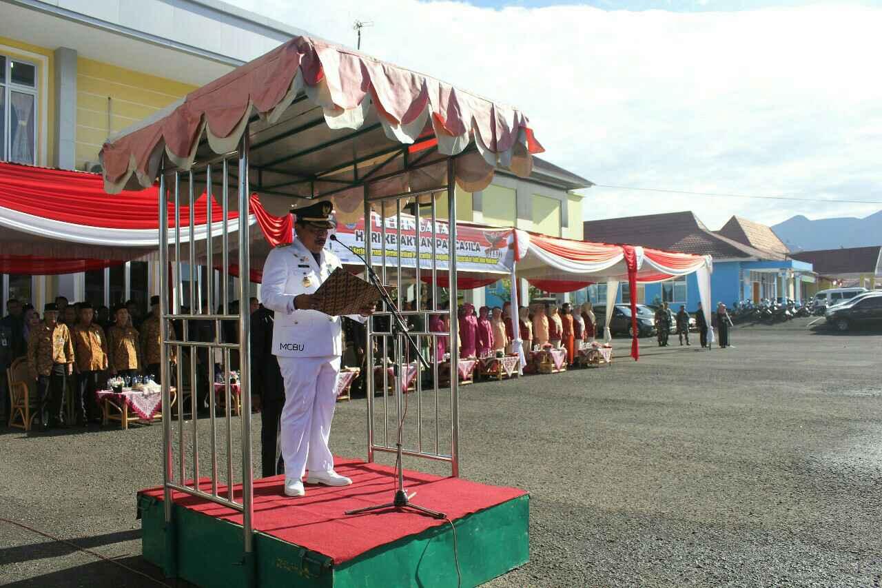 Pembacaan Ikrar Suci Warnai Hari Kesaktian Pancasila di Bengkulu Utara