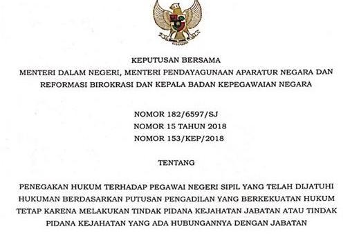 Bupati Bengkulu Utara : PTDH, Sudah Sesuai Aturan